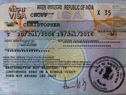 Visa vào Ấn Độ