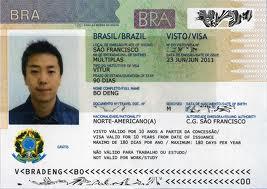 visa vào Brazil