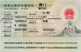 visa ma cao