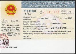 visa vào Việt Nam